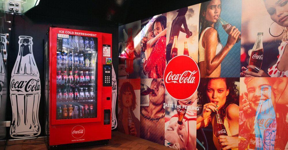 Distributore di Coca-Cola