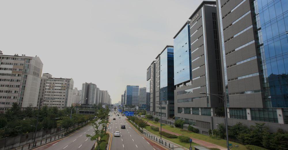 Imagen de Pangyo Tech Valley en Seongnam, Corea del Sur