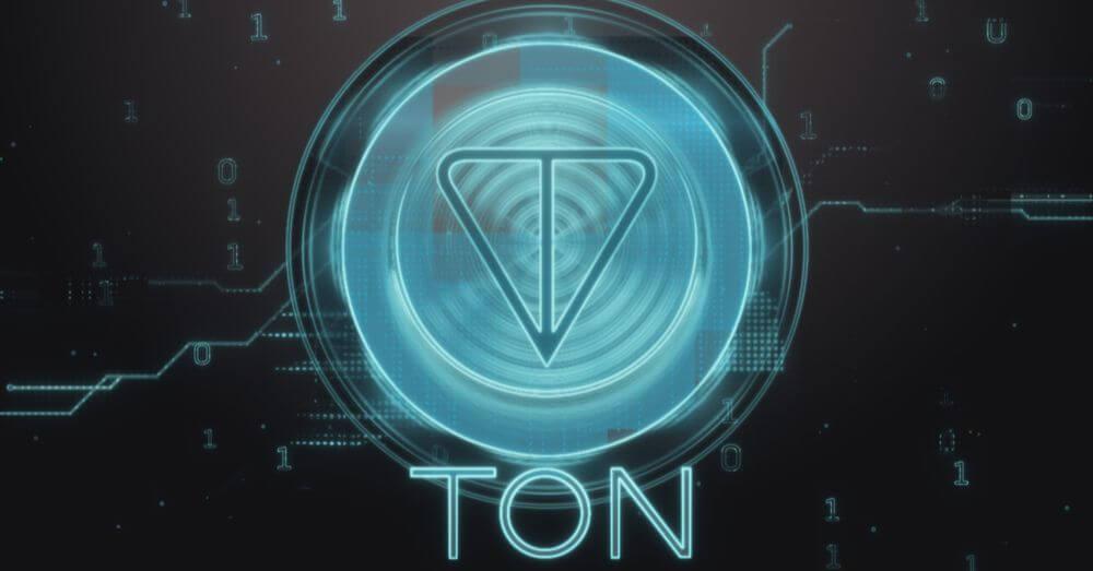 Grafica del simbolo TON