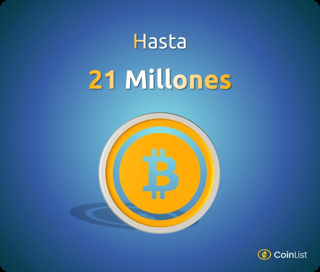 21 millones bitcoin