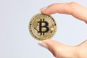 bitcoin being held