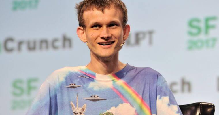 Vitalik Buterin at last year's TechCrunch