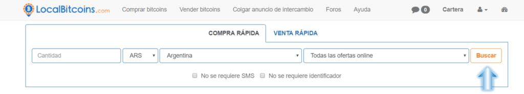 Buscar vendedores BTC Argentina1