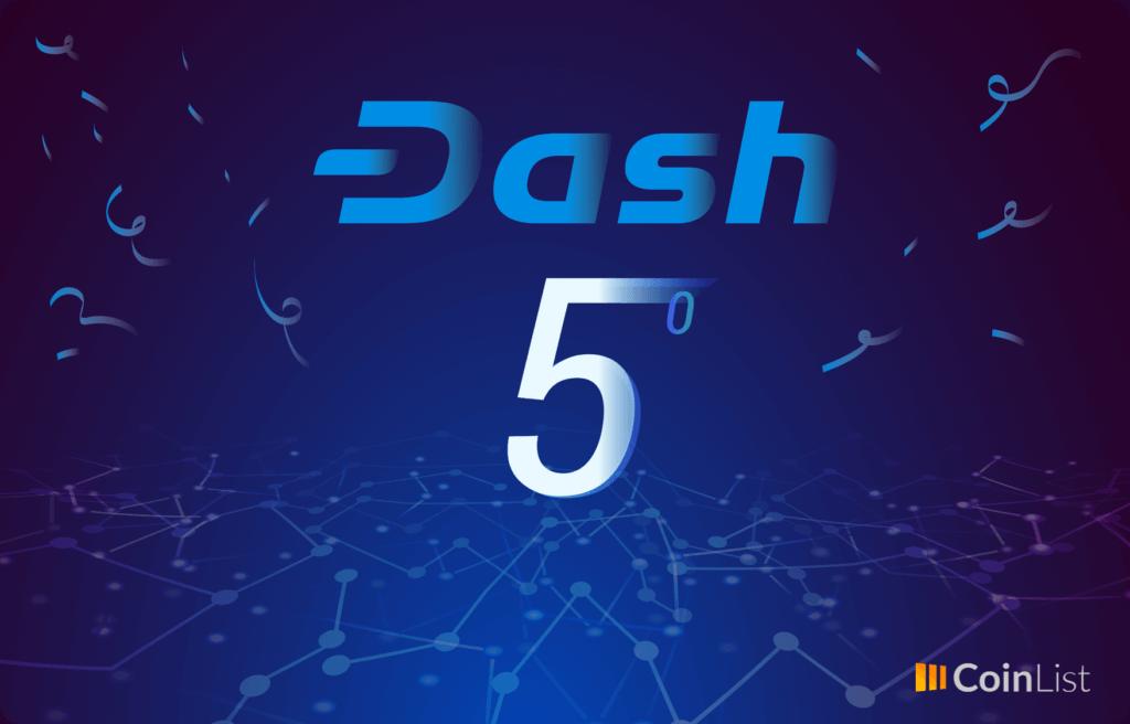 Aniversario 5 Dash