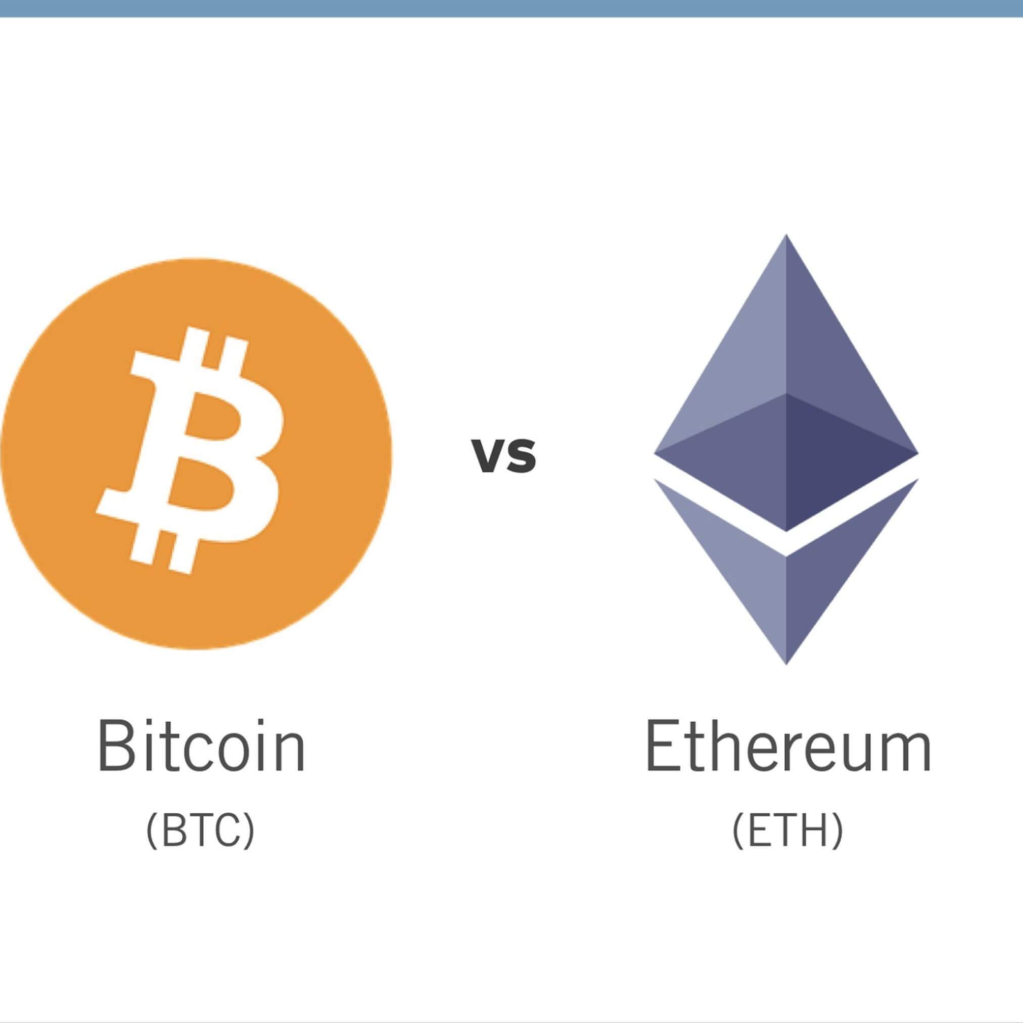Etheruem vs Bitcoin