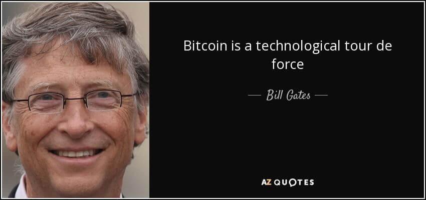 Bill Gates Bitcoin Quote