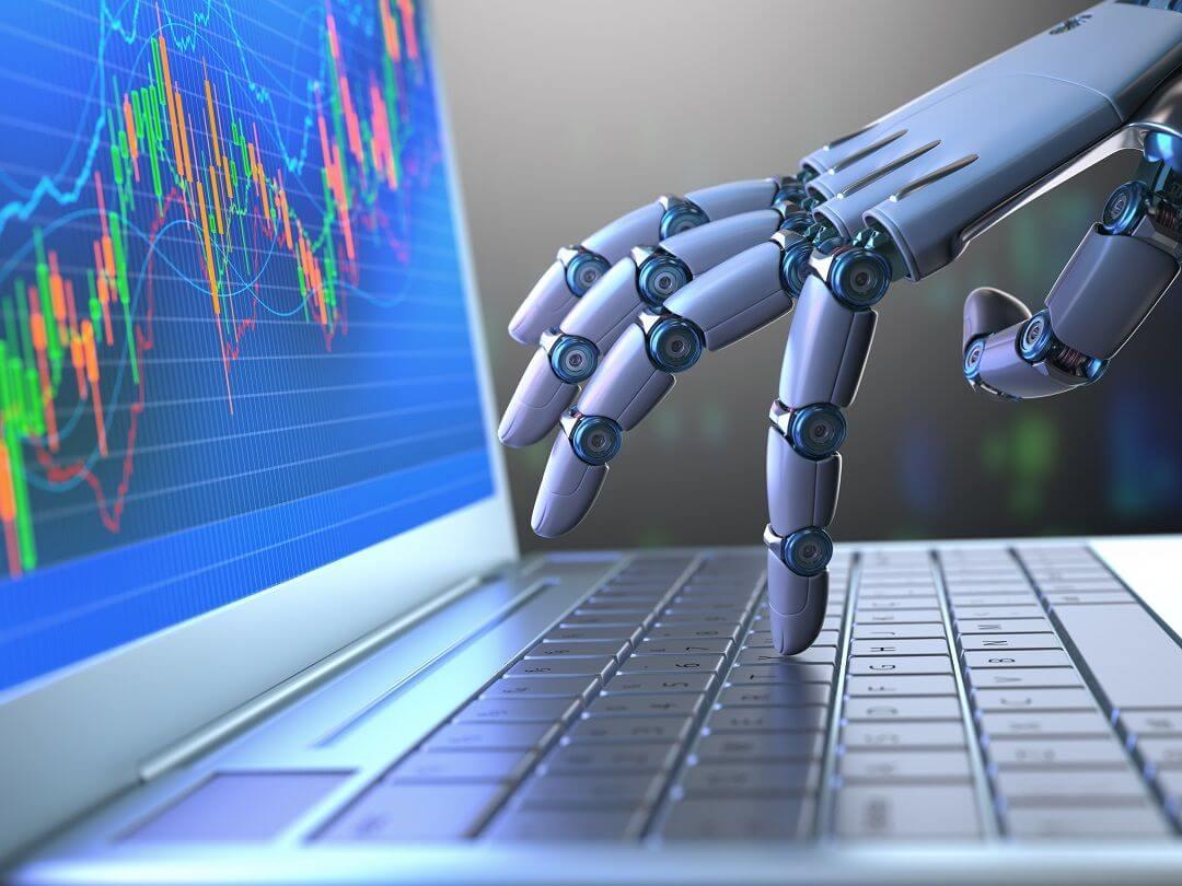 Robot Auto-Trading sur un ordinateur portable