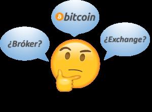Sitios de bitcoin: brókeres o exchanges