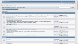 Bitcointalk forum