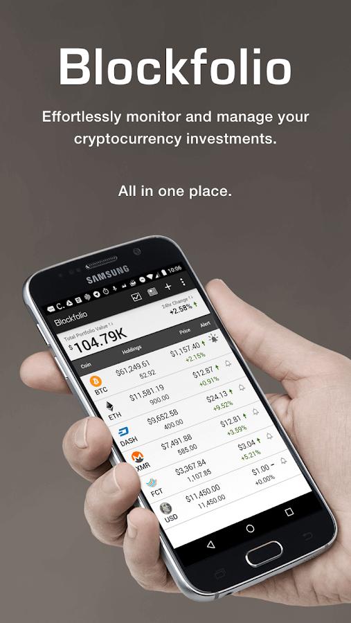 Blockfolio acheter bitcoin