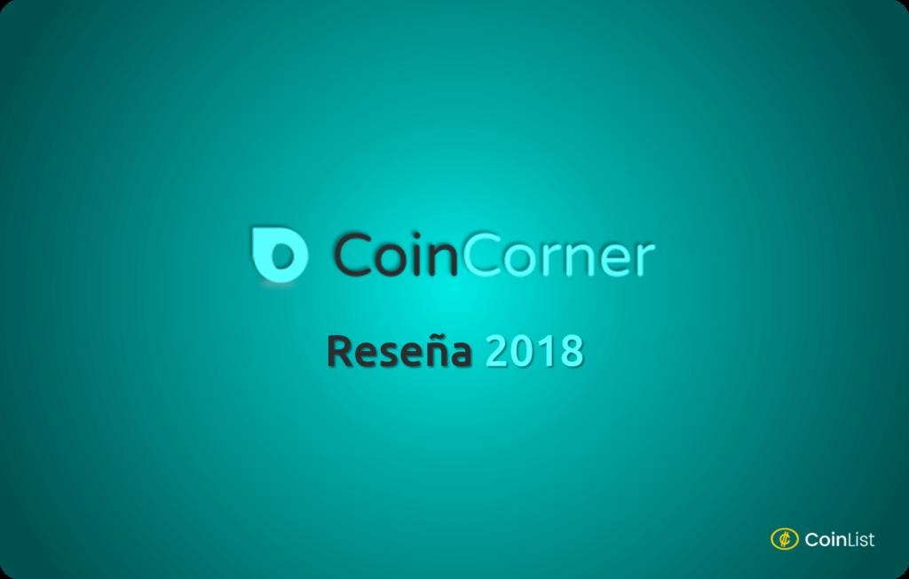CoinCorner Reseña 2018