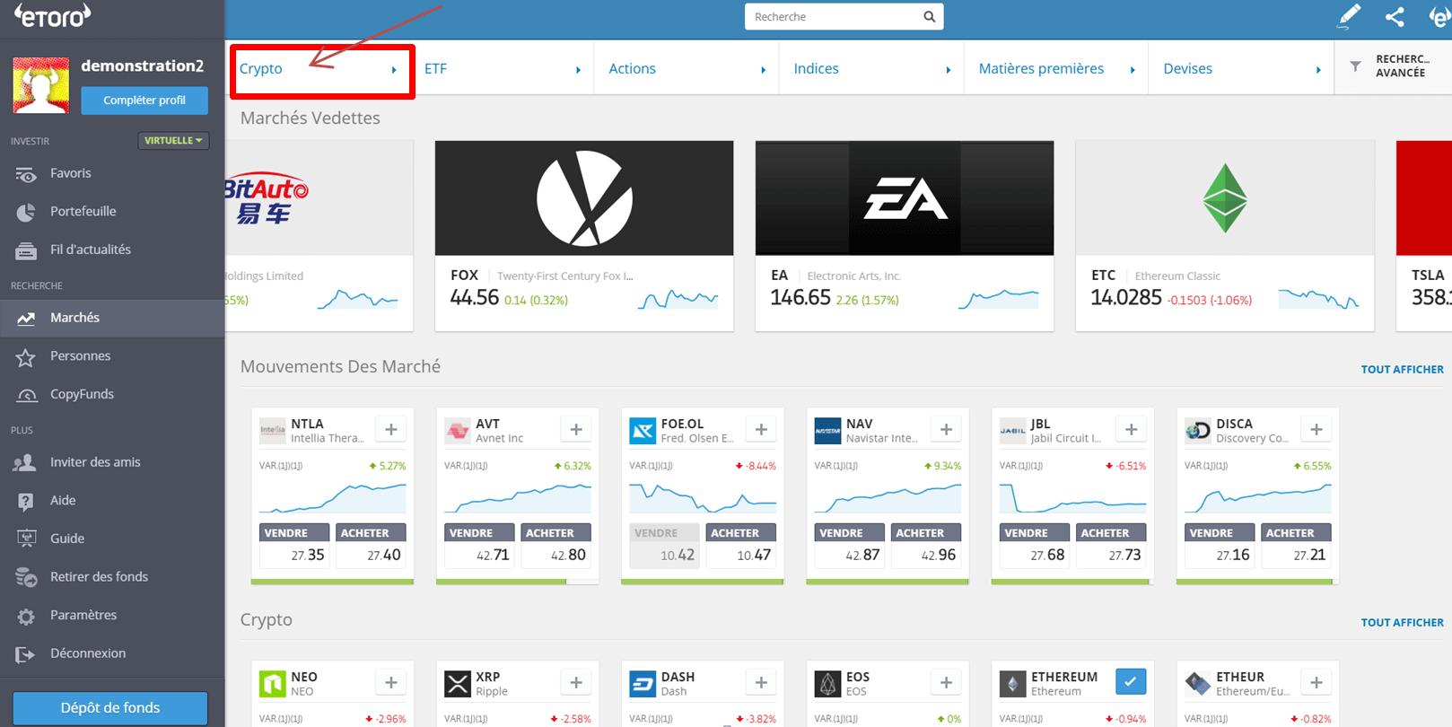 Comment Acheter des Monnaies Virtuelles 1