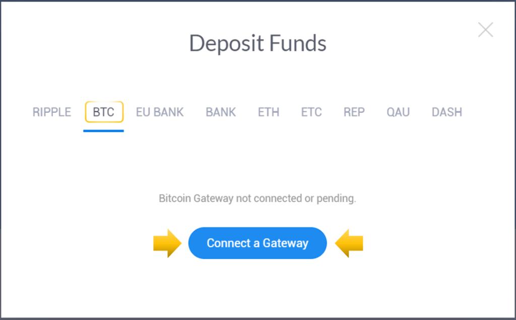Conectar a un gateway