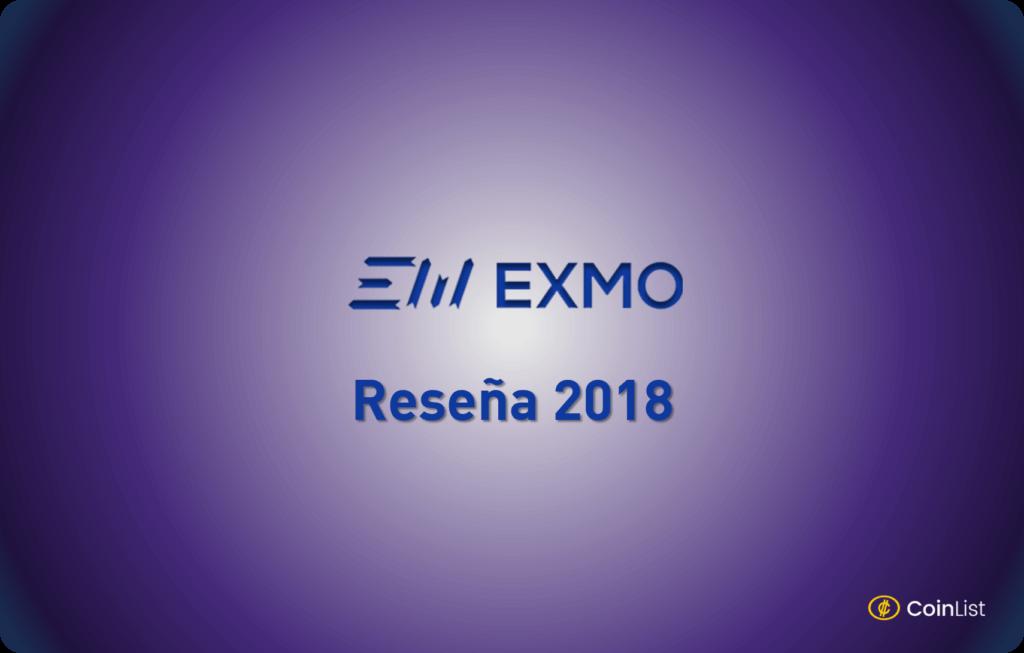 EXMO reseña 2018