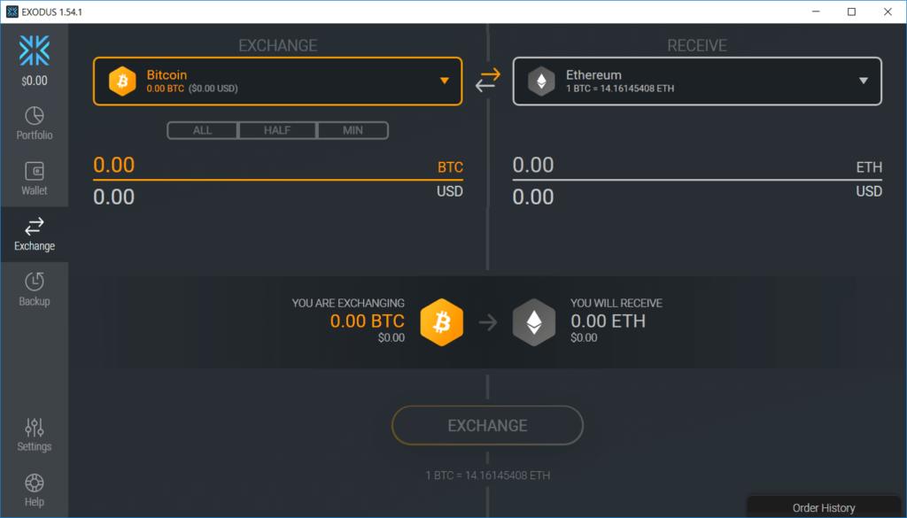 Exchange de Exodus