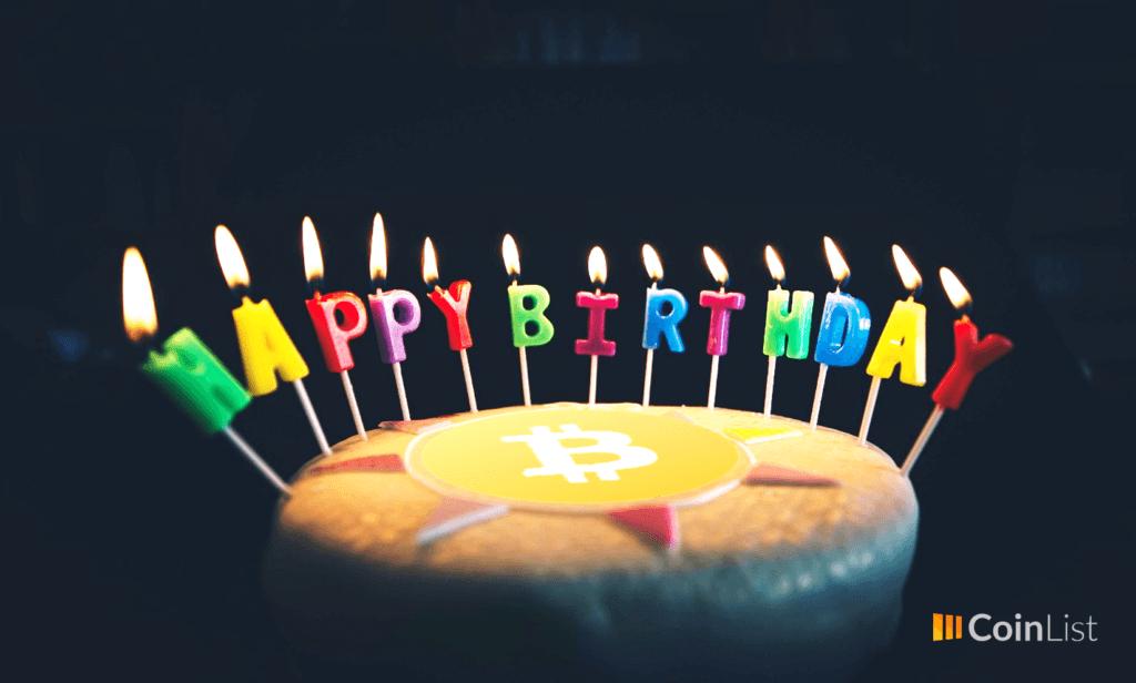 Feliz cumpleaños bitcoin