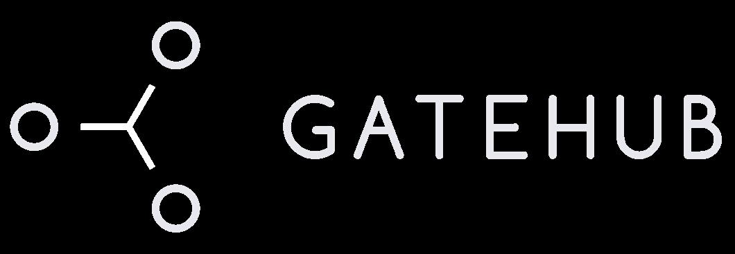 GateHub logo blanco