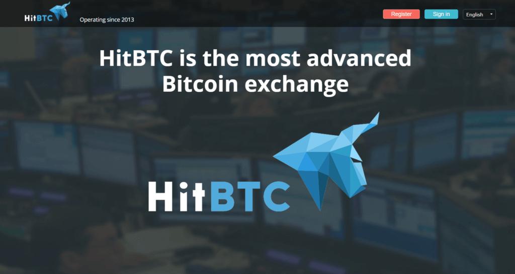 HitBTC Registrierung