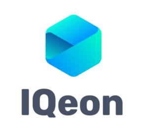 IQeon logo vertical