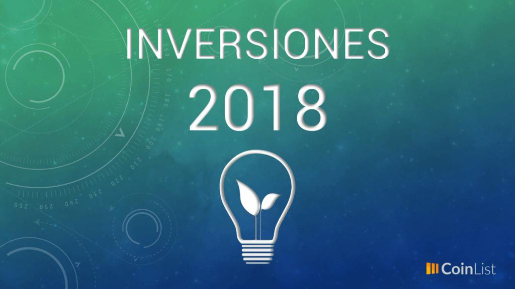 Mejores inversiones 2018