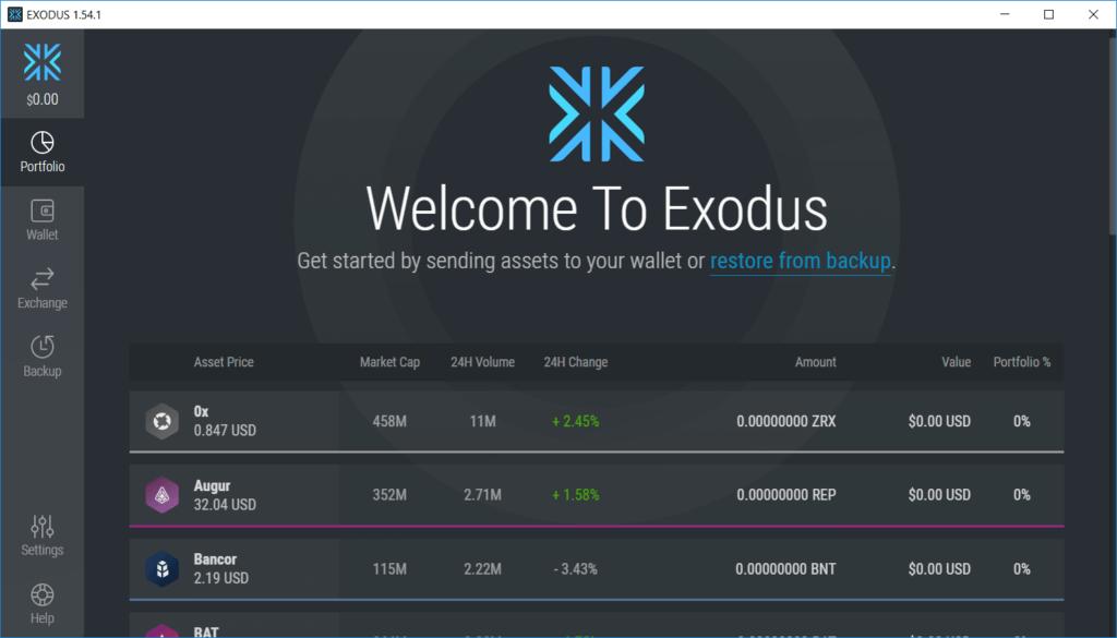Portafolio Exodus