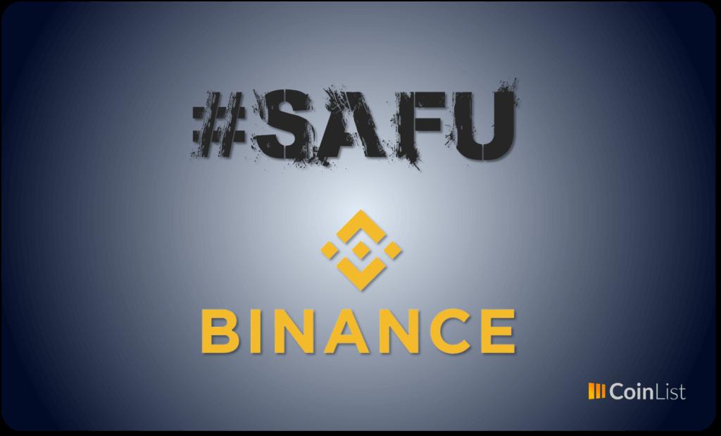 SAFU Binance