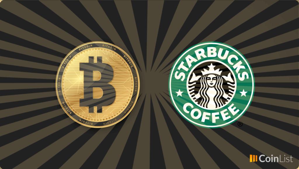 Starbucks aceptará bitcoin
