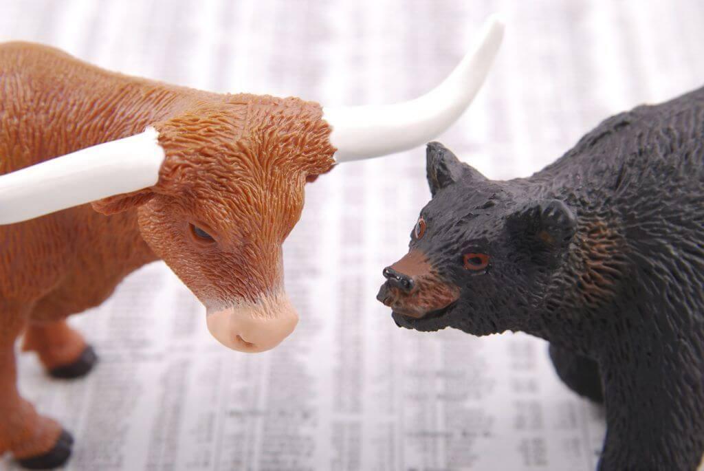 Toros vs osos criptomonedas