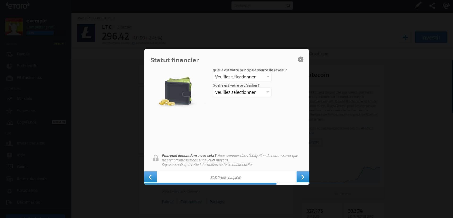 acheter ethereum guide statut