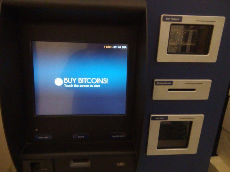 ATM bitcoin General Bytes Italia