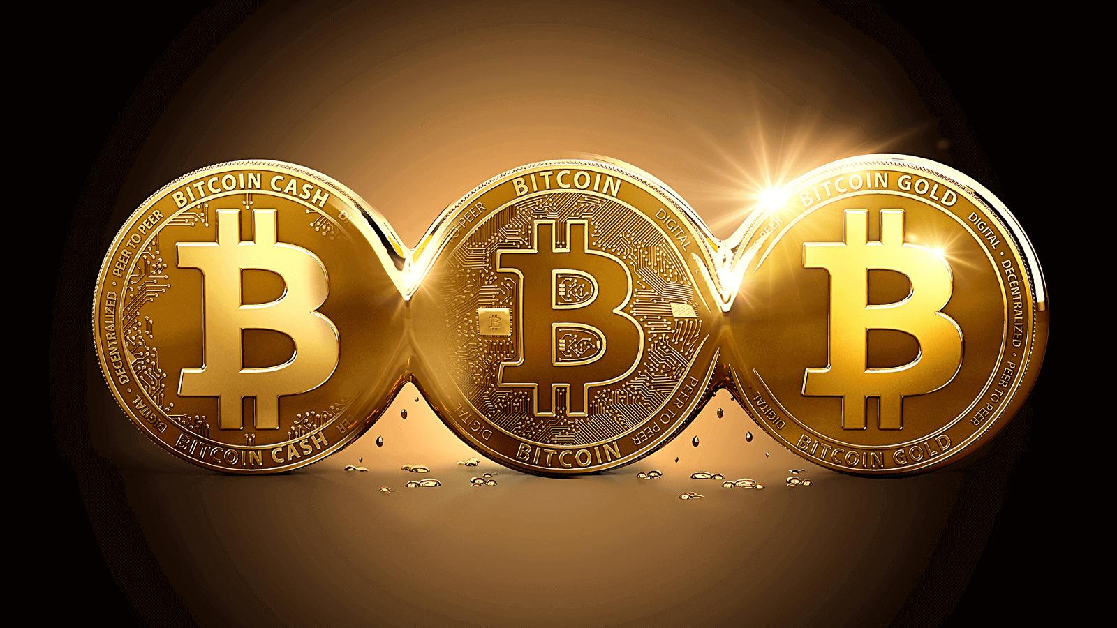 Tre Bitcoin