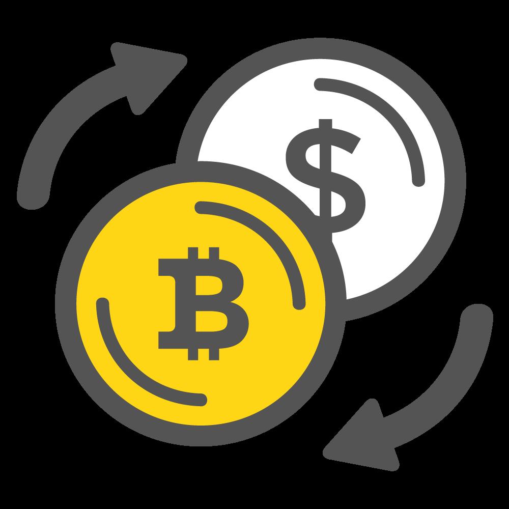 Bitcoins Dollars