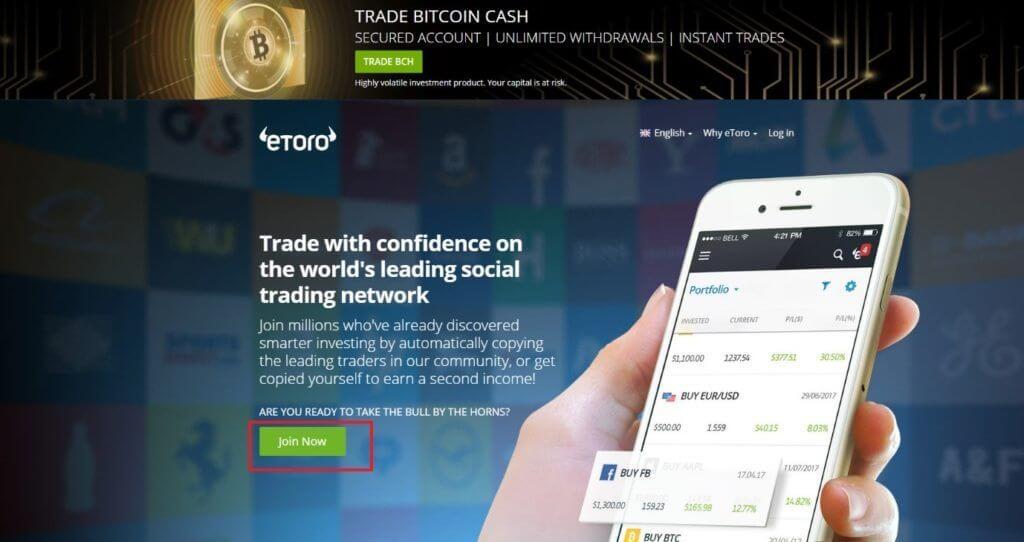 Buy Bitcoin in South Africa - eToro