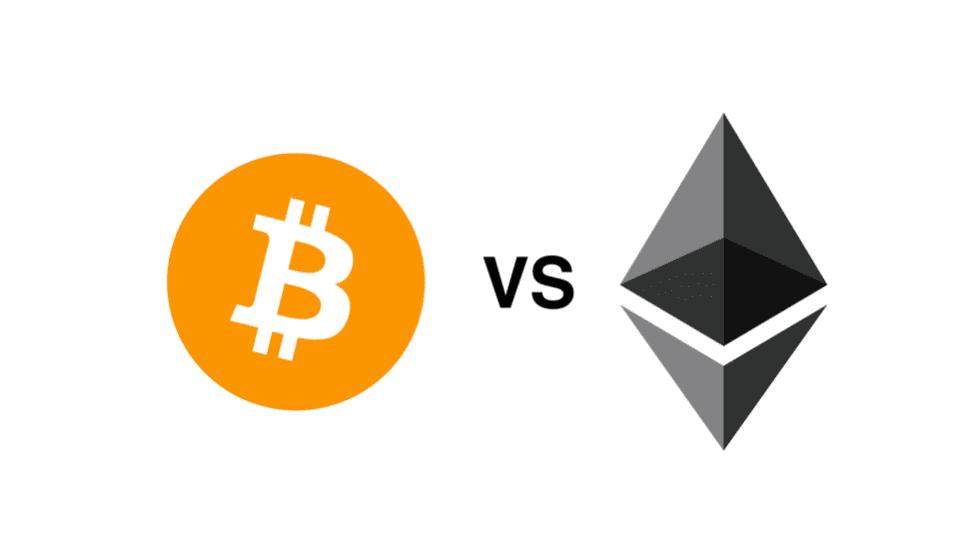 bitcoin versus ethereum acheter crypto monnaie