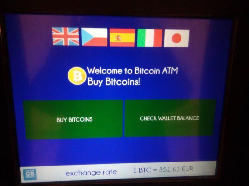 Chiosco bitcoin Robocoin