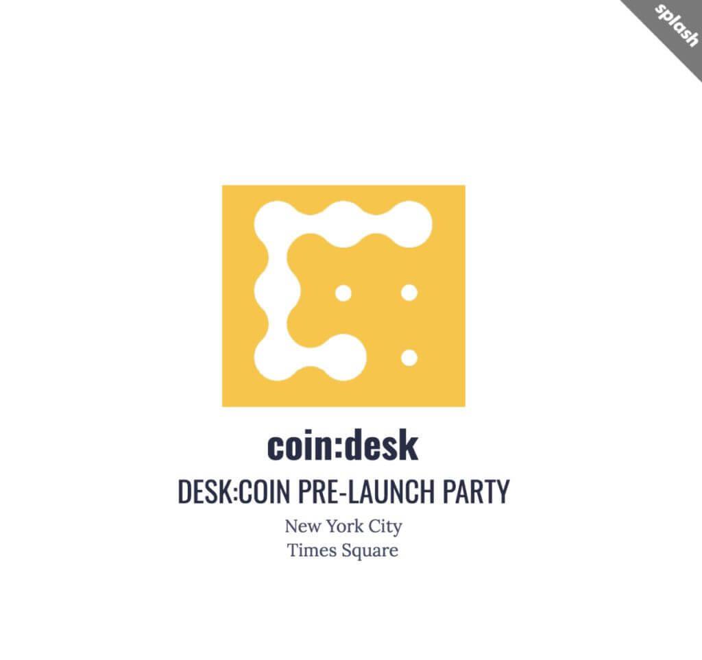 Coindesk token Deskcoin