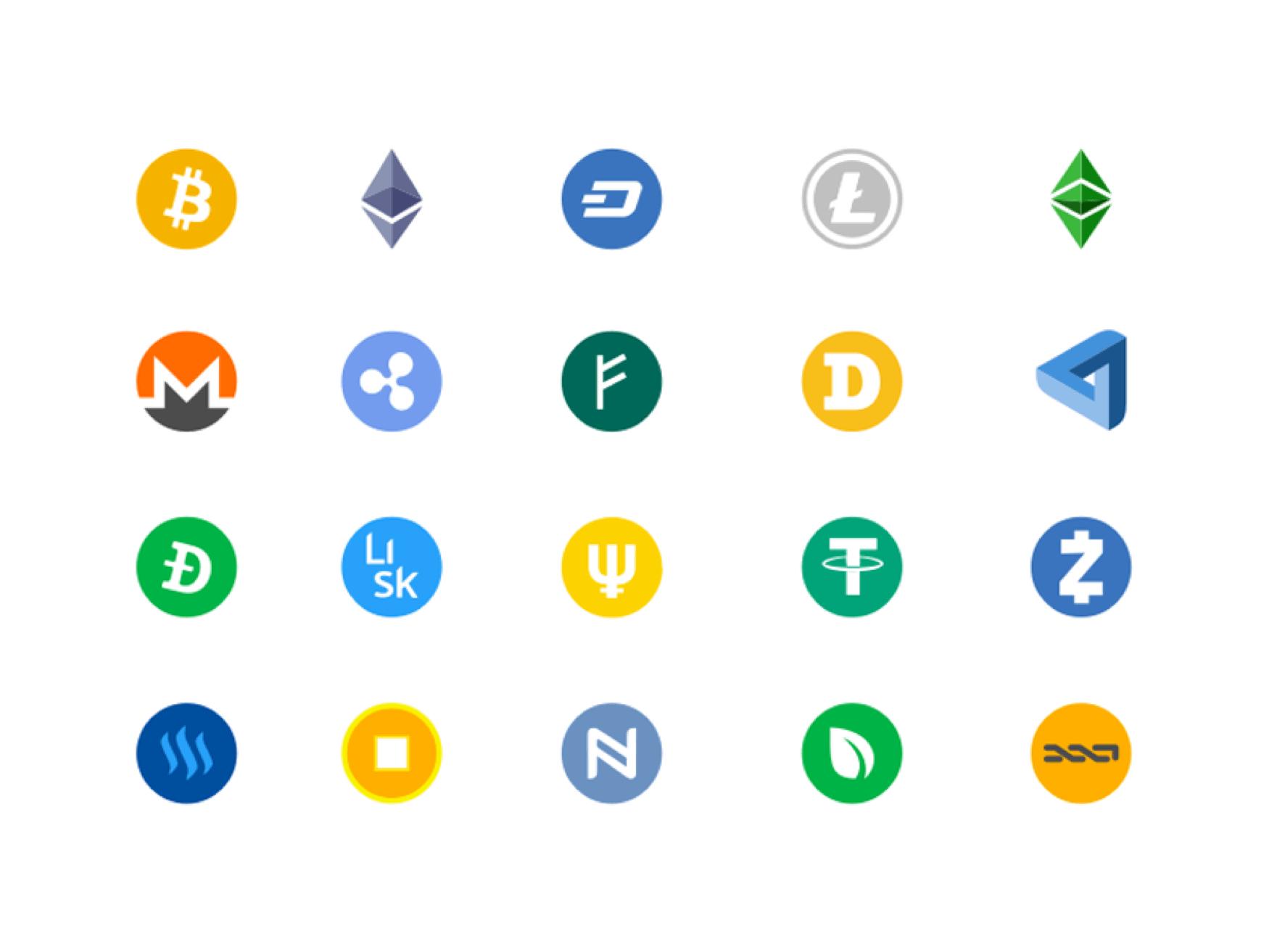 crypto logos