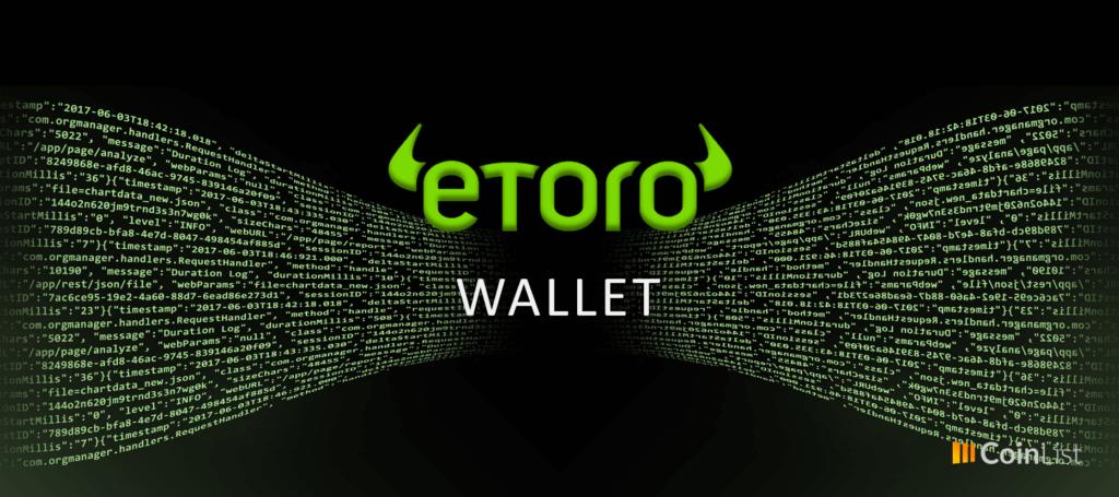 eToro lanza monedero criptomonedas