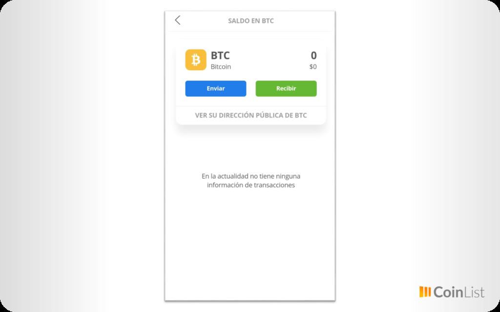enviar y recibir bitcoin etoro wallet
