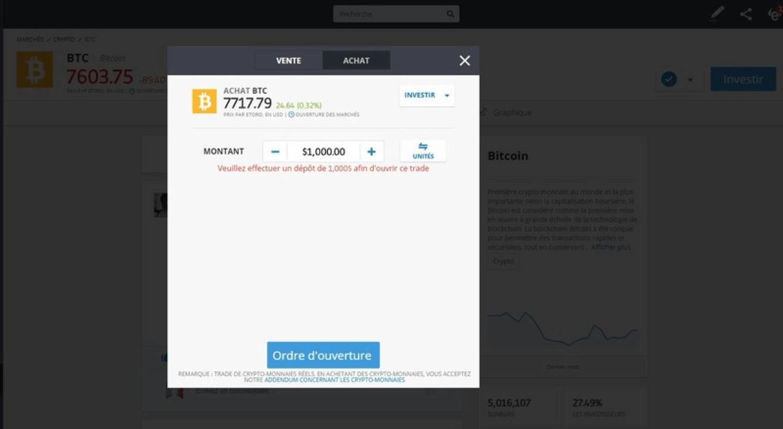 l'argent avec le Bitcoin