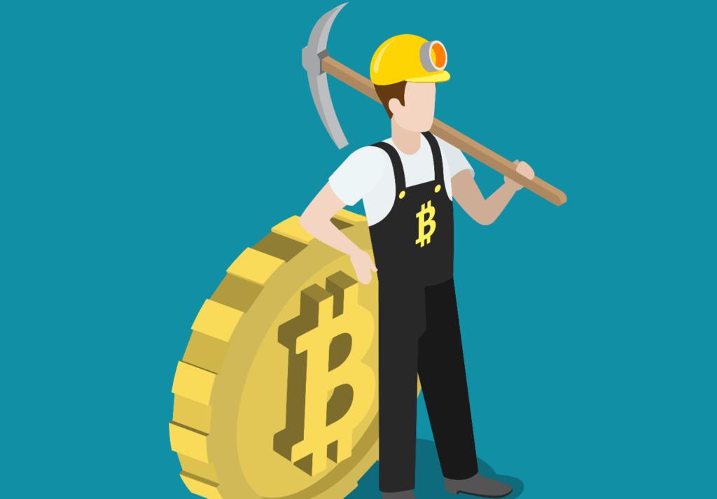 mineros caída bitcóin