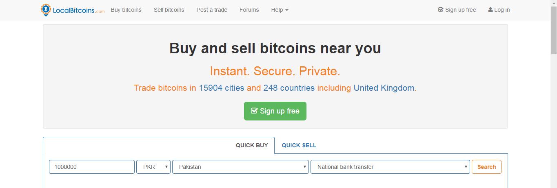 pakistano bitcoin trading