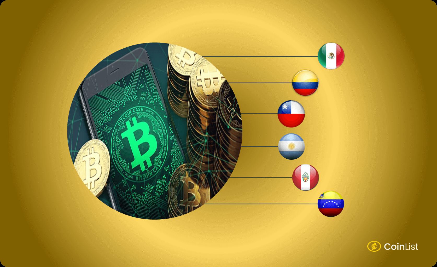 Minar Bitcoin Cash en Latino America