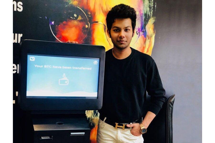 Créateur de ZeelaCoin Sahil Arora. Projet ERC20 token sur la plateforem d'Ethereum
