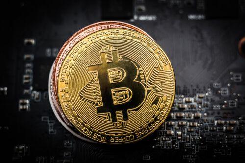 Représentation d'une pièce de Bitcoin - BTC