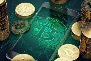 histoire bitcoin bulle Bitcoin - pièce de Bitcoin et graphique boursier