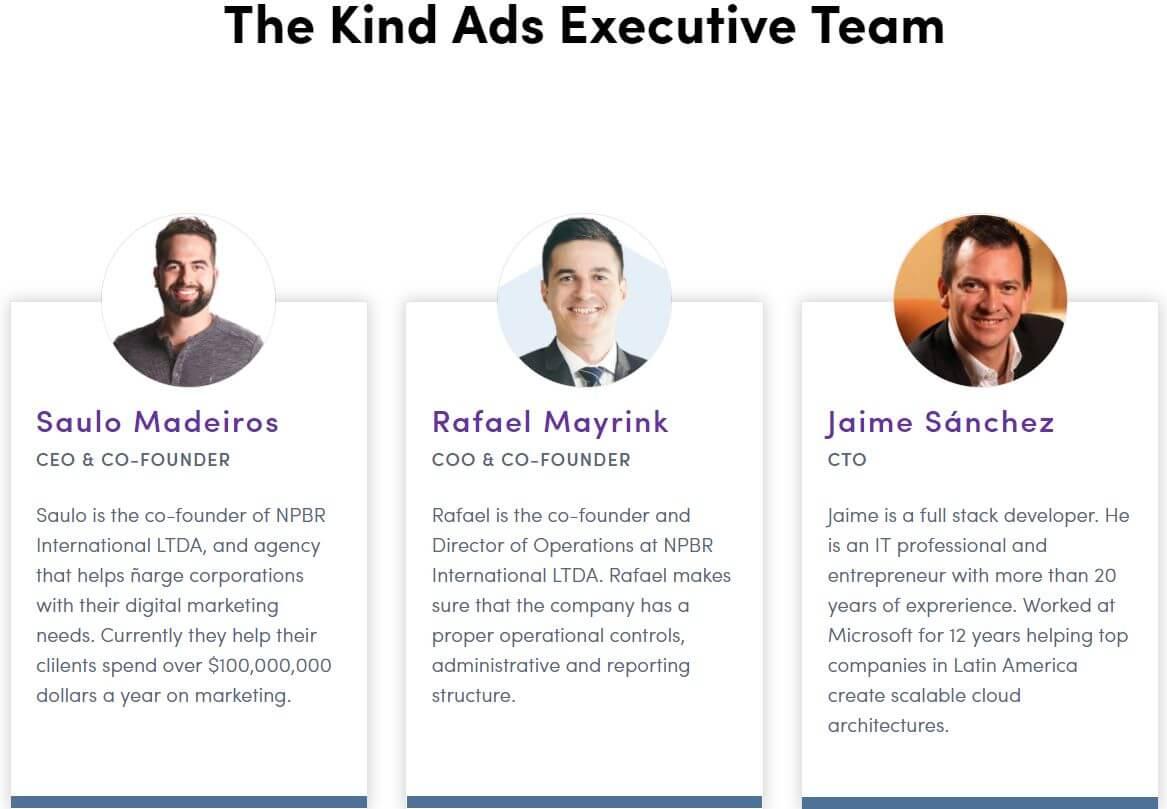 Team Kind Ads