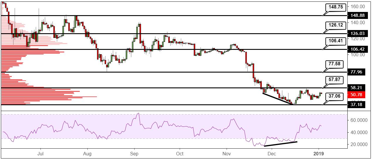 XMR/USD Daily chart 03/01/2019 Tradingview.com