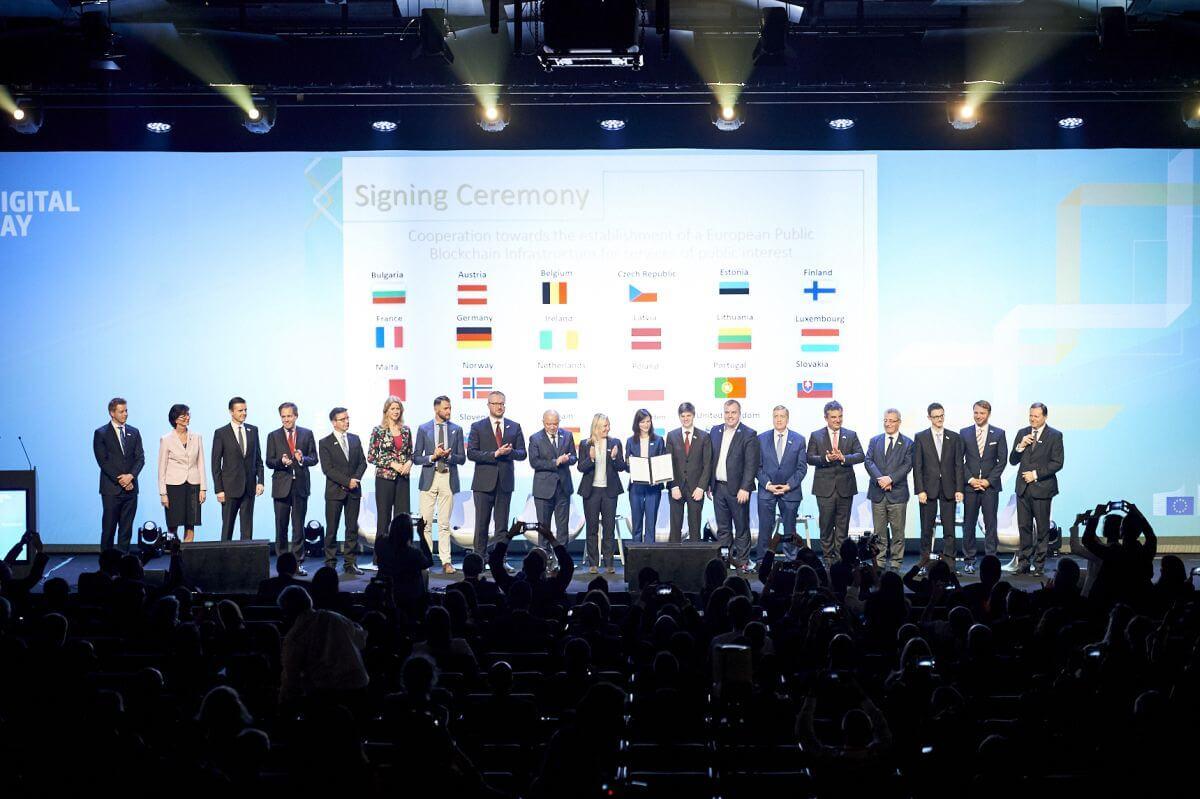 L'Unione Europea promuove blockchain