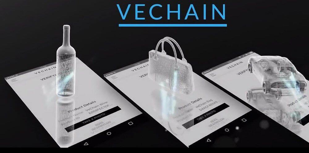 vechain catena di approvigionamento